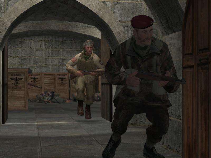 В первой CoD уже появился капитан Прайс. И служил он в британском десанте