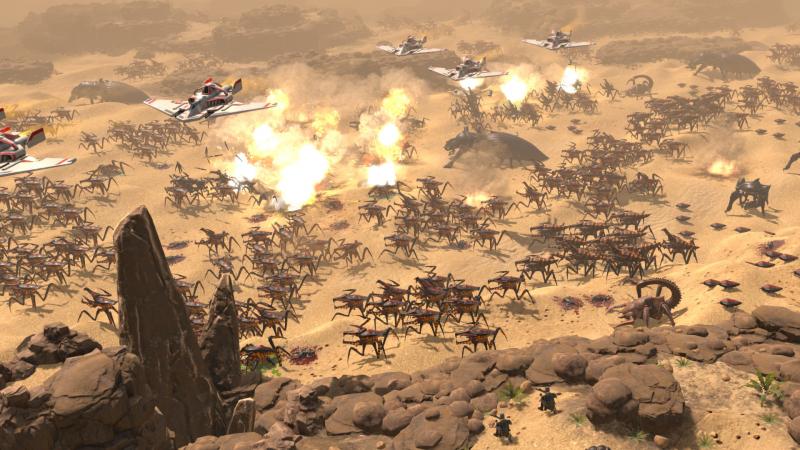 Жучиная армия спешит на разборки с десантом