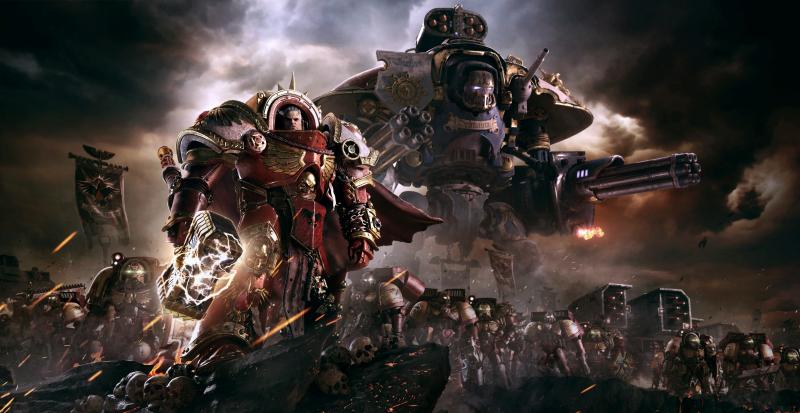 Десантники Императора при поддержке тяжелой техники — неудержимая сила