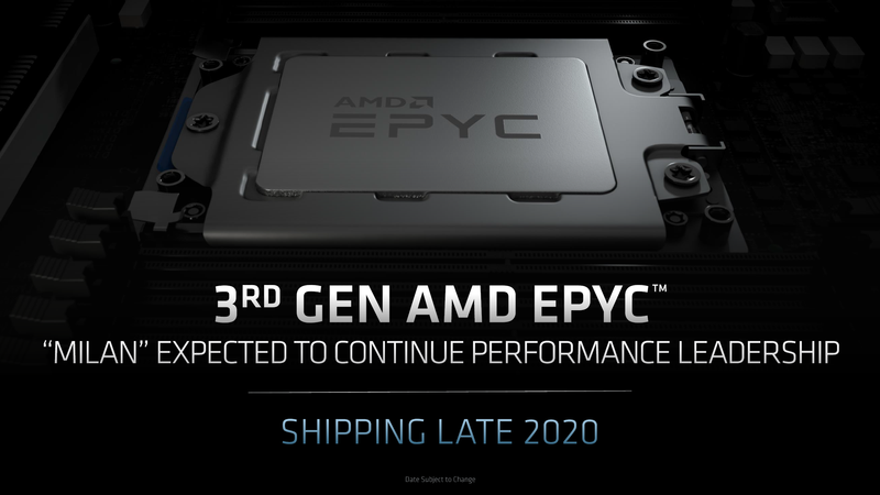 AMD Milan: всё идёт по плану