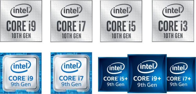 Старые логотипы Intel