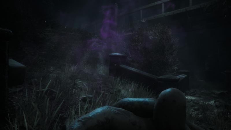 Фиолетовый дым опасен для здоровья, не рекомендуется вдыхать