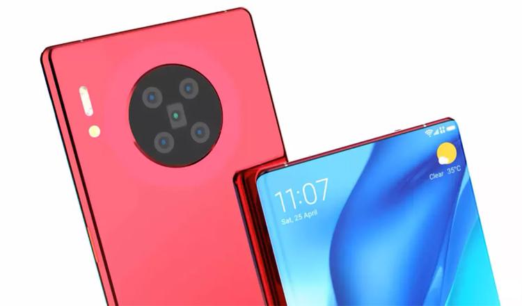 Концепт-рендер Huawei Mate 40