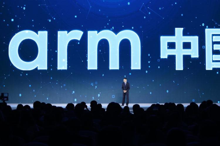 «Мятежный» глава Arm China Аллен Ву (Allen Wu) на одной из конференций в 2018 году (SCMP/Simon Song)