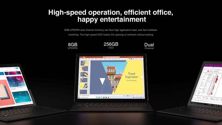 Вышла новая версия Chuwi UBook — планшет «2-в-1» UBook X