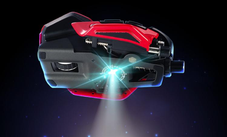 Мышь-трансформер Mad Catz R.A.T. 8+ ADV оснащена сенсором на 20 000 DPI