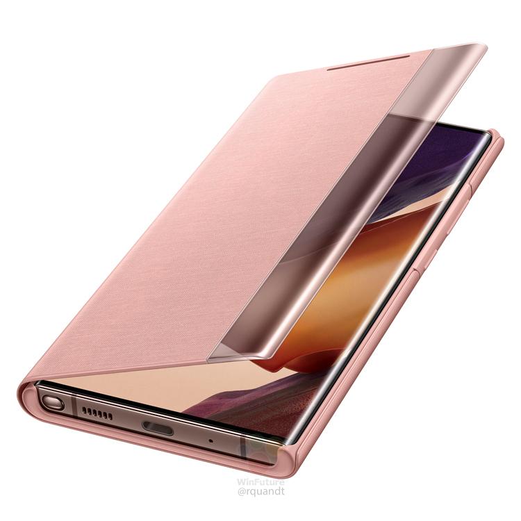 Смартфоны Samsung Galaxy Note 20 красуются в защитных чехлах