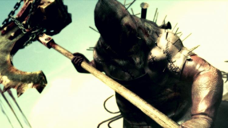 Палач из Resident Evil 5