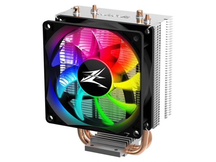 Процессорный кулер Zalman CNPS4X RGB рассчитан на TDP до 95 Вт