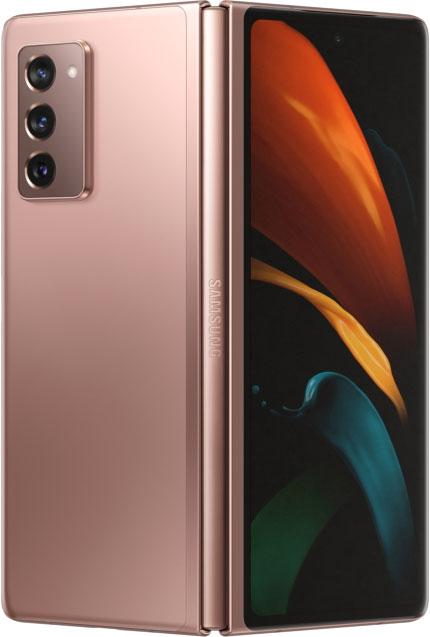 Вторая попытка: Samsung показала гибкий смартфон Galaxy Z Fold 2 с более крупными экранами