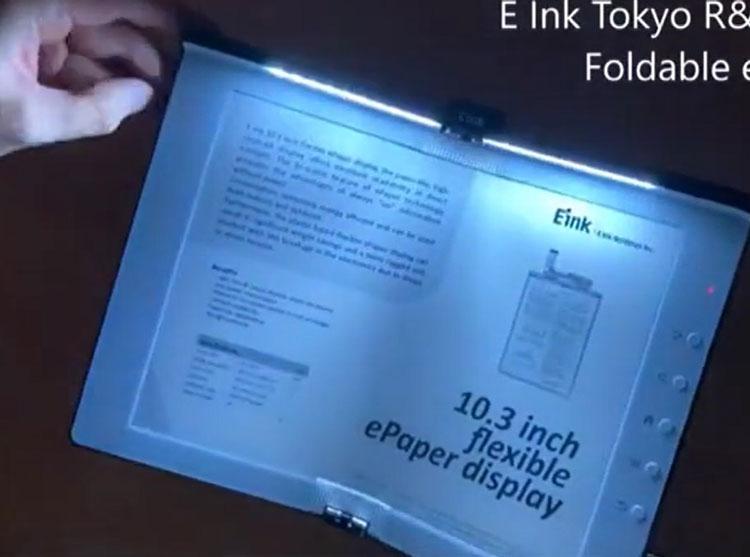 Все побежали и я побежал: E Ink представила 10,3-дюймовую складную электронную «бумагу»