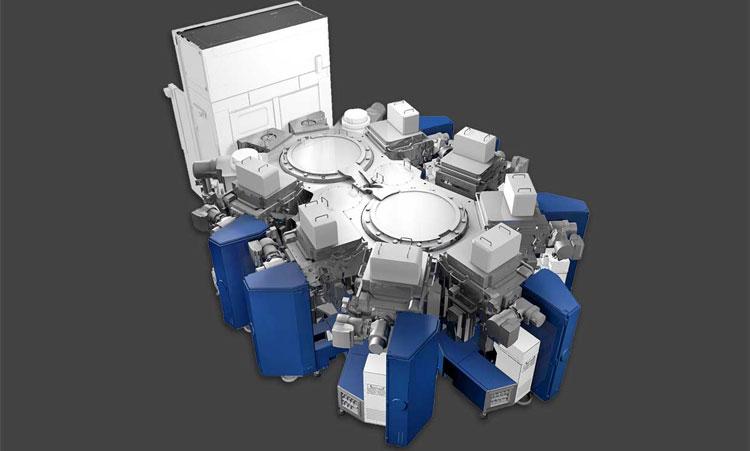 Установка Applied Materials для металлизации скозных соединенний в вакууме