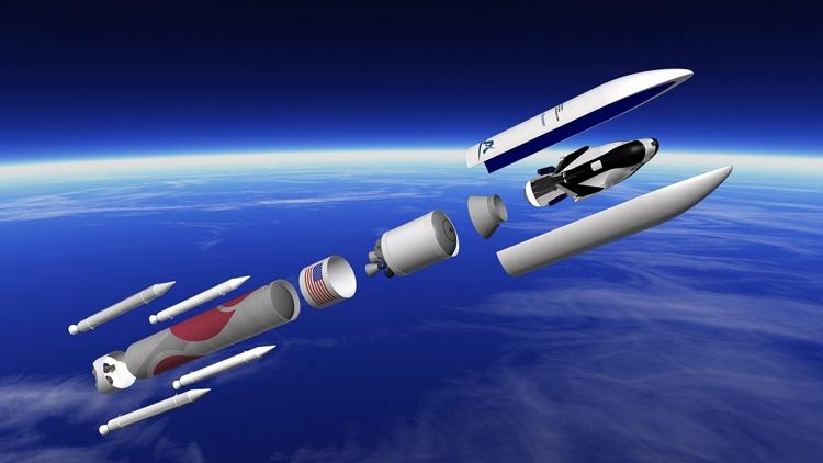 Проект ракет-носителя Vulcan Centaur компании ULA