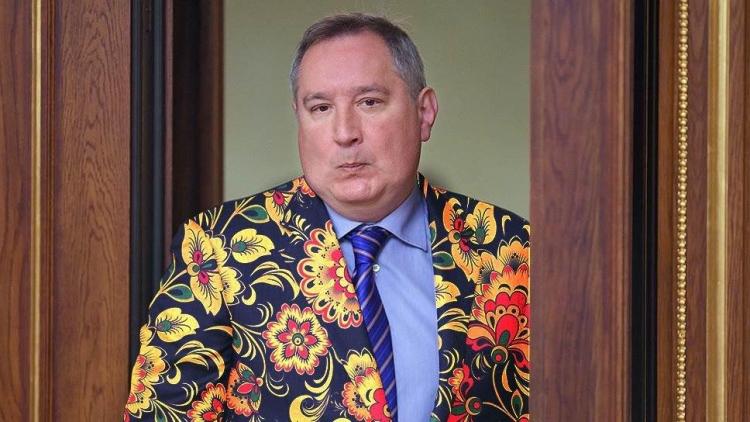 Рогозин предложил раскрасить космические корабли гжелью и хохломой для  развития туризма