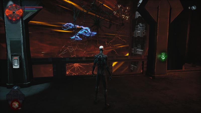 Игрока встречают могучие твари, проплывающие в бездонном космосе. Редкий красивый кадр