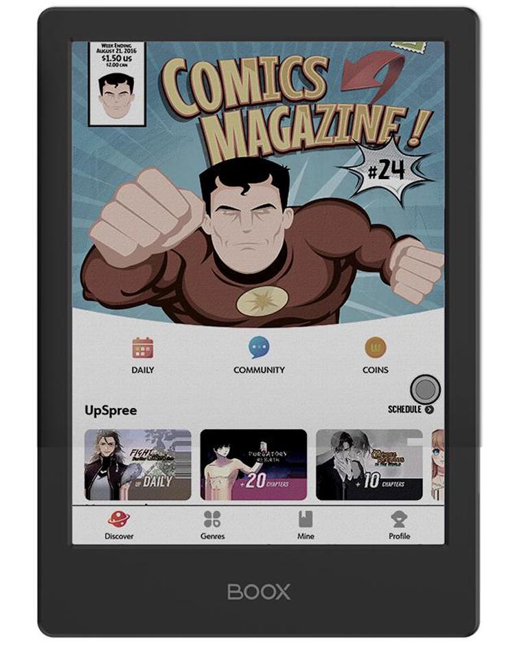 Электронная книга следующего поколения: Onyx Boox Poke2 Color предлагает цветной дисплей E Ink за $300