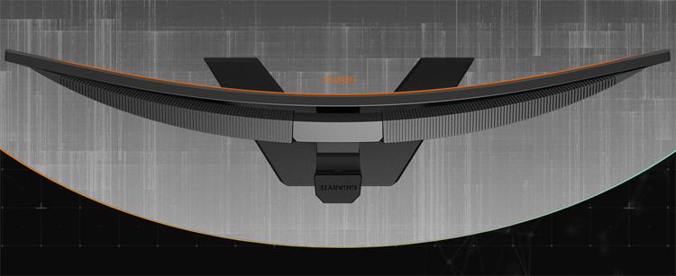 Игровой монитор GIGABYTE G34WQC имеет соотношение сторон 21:9