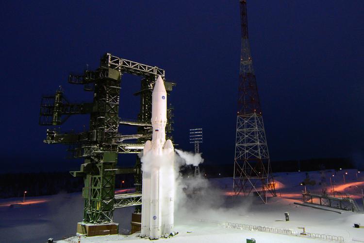 Тяжёлая ракета «Ангара» отправлена на космодром Плесецк для второго запуска