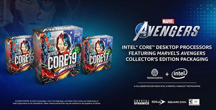 «Мстители» обрушатся на AMD: Intel подтвердила запуск особых процессоров вместе с Marvel