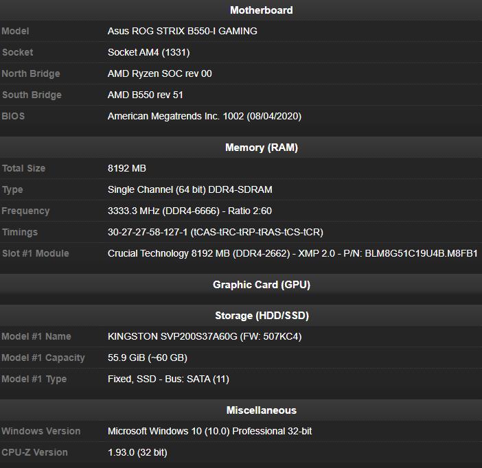 Источник изображения: CPU-Z
