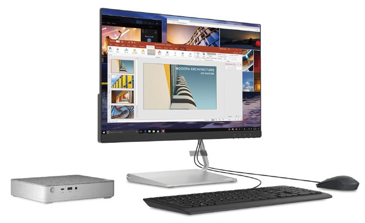 Неттоп Lenovo IdeaCentre Mini 5i с тканевым верхом получил чип Intel Comet Lake