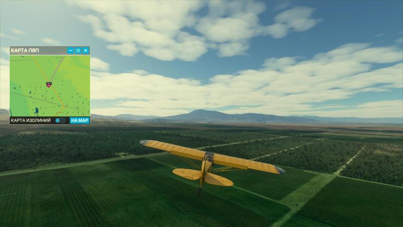 GPS-навигация — верный друг зазевавшегося пилота!