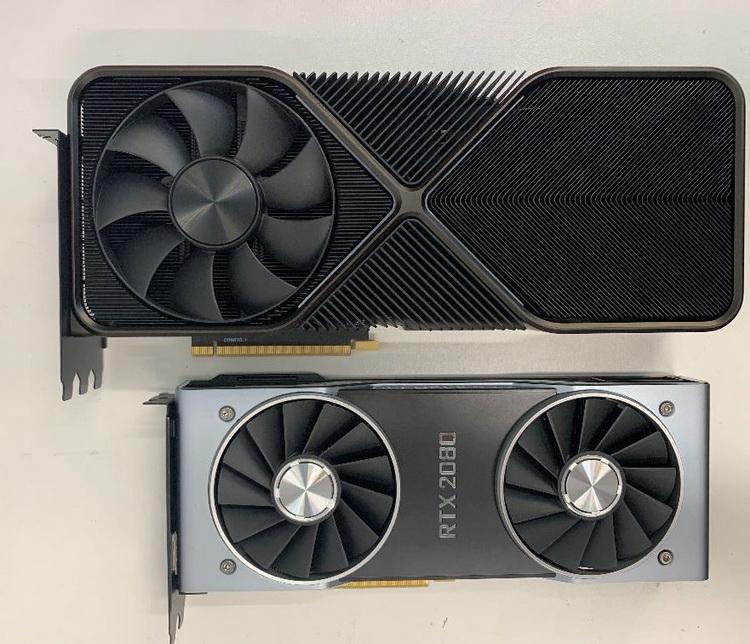 Лицевая сторона GeForce RTX 3090