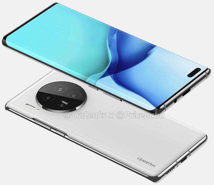 Визуализация Huawei Mate 40 Pro