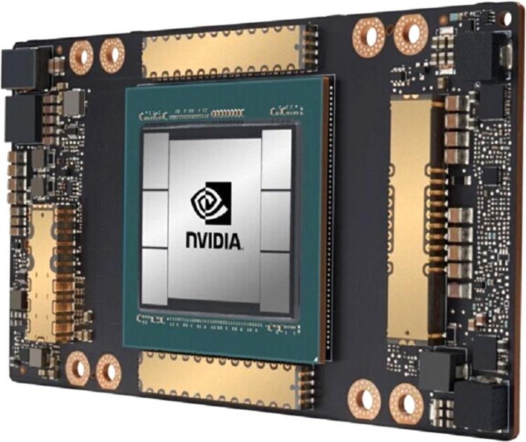 Чип NVIDIA A100 насчитывает 54 млрд транзисторов