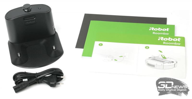 Комплект поставки iRobot Roomba 676