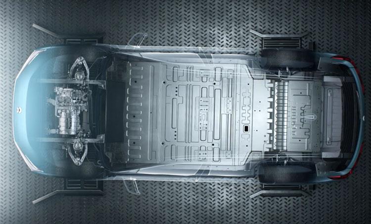 Электромобиль NIO в «тисках» станции по автоматической замене аккумуляторов