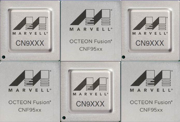 Все эти чипы содержат процессорные ядра с архитектурой ARM