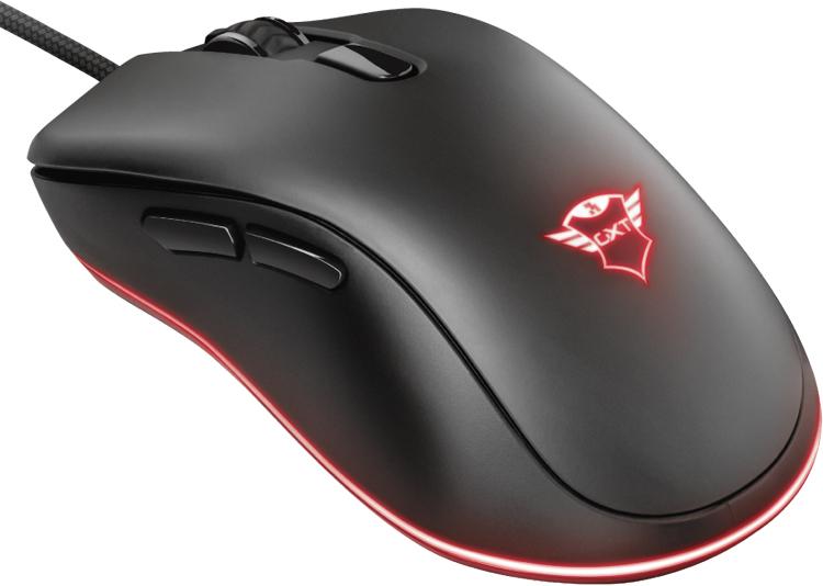 Игровая мышь Trust GXT 930 Jacx RGB получила датчик на 6400 DPI