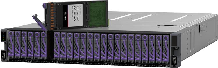 NVMe-oF позволяет обеспечить скорость NVMe-хранилища даже при работе с несколькими хостами