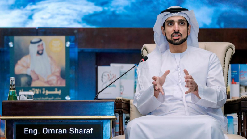 Омран Шараф, руководитель проекта «Аль-Амаль». Фото с сайта www.thenational.ae