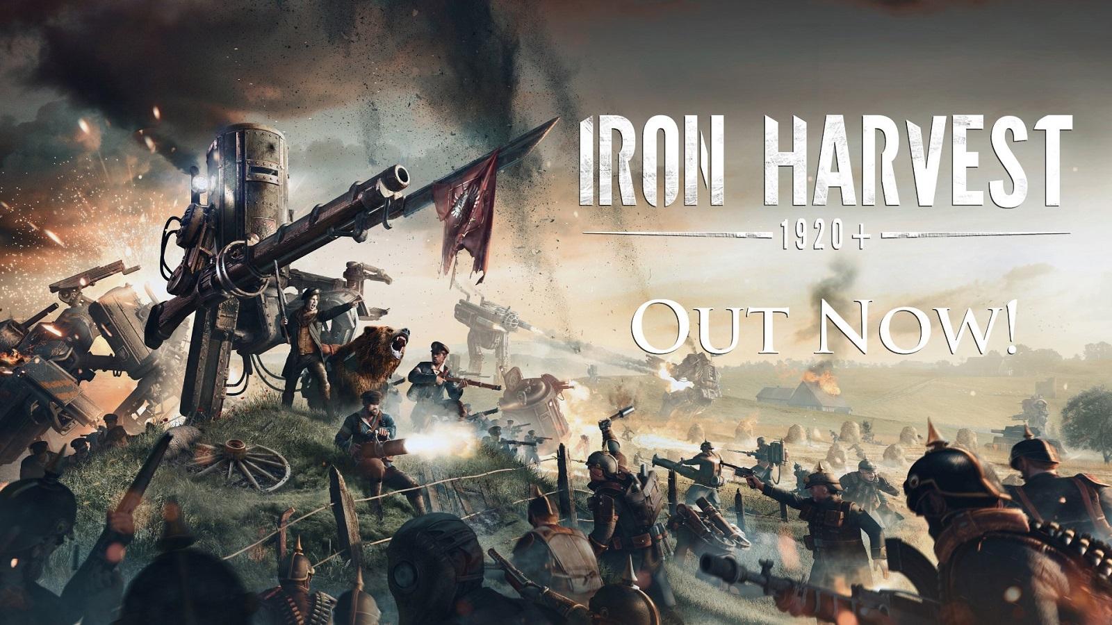 Смешались в кучу кони, люди и огромные роботы: дизельпанковая стратегия  Iron Harvest вышла на ПК и получила новый трейлер