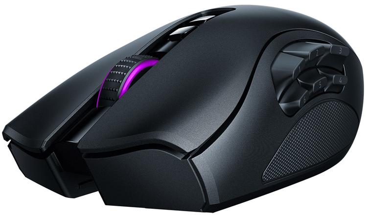Мышь Razer Naga Pro адаптируется под любой игровой жанр