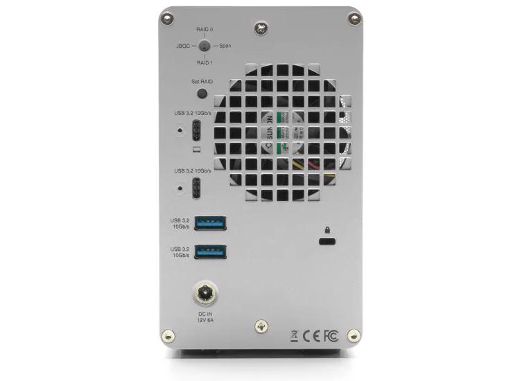 Внешнее хранилище OWC Mercury Elite Pro Dual на жёстких дисках или SSD стоит до $1950