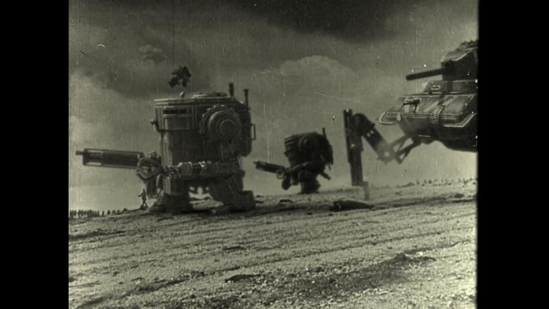 Реальная военная хроника с железными великанами ― впечатляющий режиссерский ход
