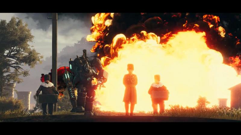 Показатель крутости в мире Iron Harvest такой же, как и в нашей вселенной: ни взгляда на взрывы!