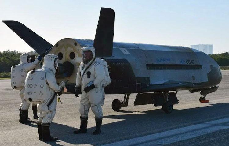 Космоплан X-37B ВВС США