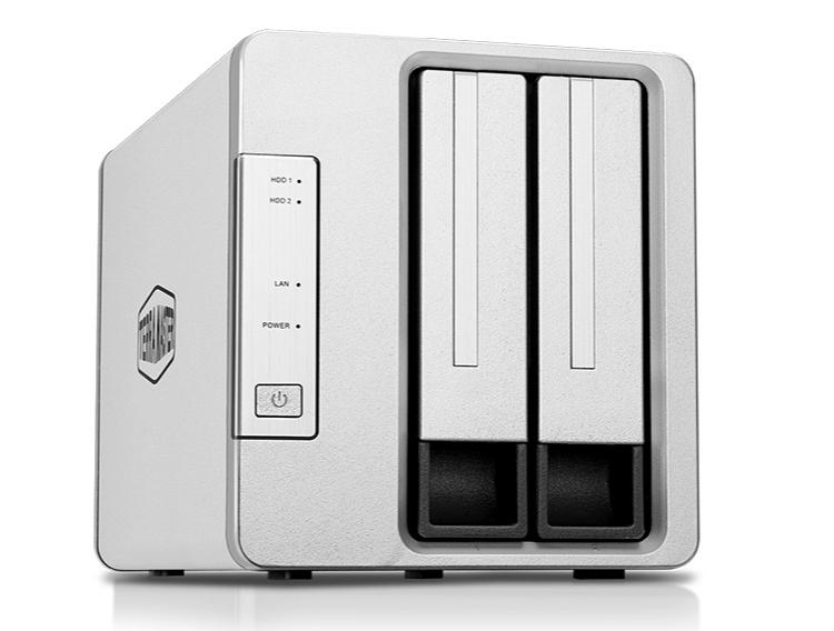 Компактное NAS-хранилище TerraMaster F2-422 подключается через 10-гигабитный Ethernet