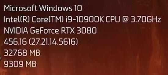 Первые независимые тесты GeForce RTX 3080: в играх до 62 % быстрее, чем GeForce RTX 2080 Super