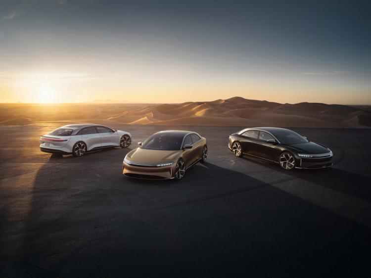 Это вам не Tesla: представлен электрический седан премиум-класса Lucid Air по цене до $169 тысяч