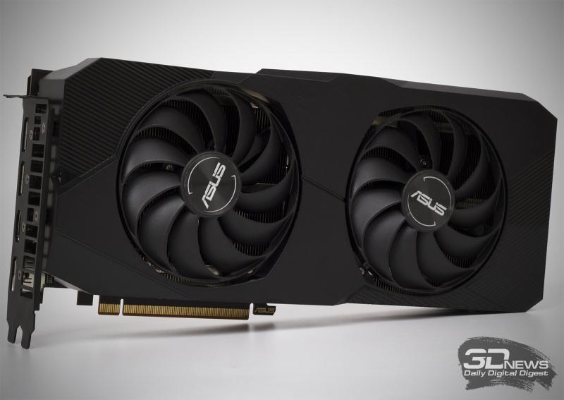 ASUS Dual Radeon RX 5700 XT EVO OC