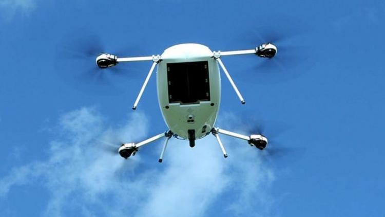 """Британская розничная сеть Tesco начнёт доставлять товары дронами в следующем месяце"""""""