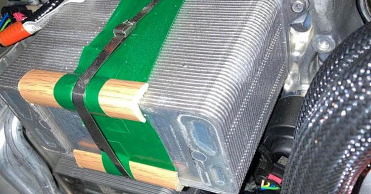 Отделка радиатора Tesla Model Y деревянными брусками, 1428/Tesla Motors Club