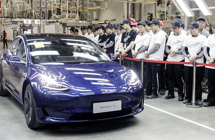 До конца года Tesla может наладить экспорт электромобилей китайской сборки