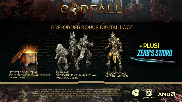 Новый трейлер Godfall знакомит с боями на PS5 в 4K