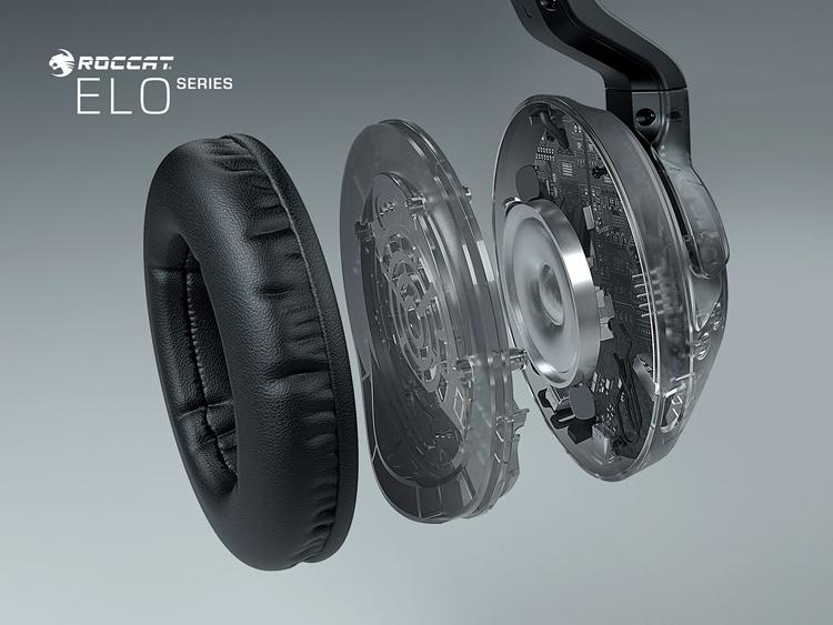 В серию игровых гарнитур Roccat Elo вошли модели с поддержкой объёмного звука и беспроводной связи